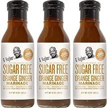 G Hughes Sugar Free Orange Ginger Marinade 13 oz (3 Pack)