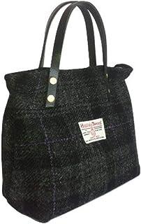 7ff903339b8b Harris Tweed Ladies Runner Bag - FREE STANDARD SHIPPING - Black House Plaid  Design Hand Made