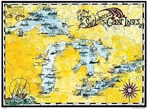 great lakes shipwrecks map