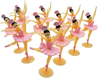 12 Ballerinas Party Favors Ballerina Cupcake Toppers