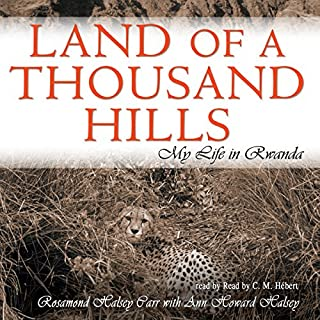 Land of a Thousand Hills audiobook cover art