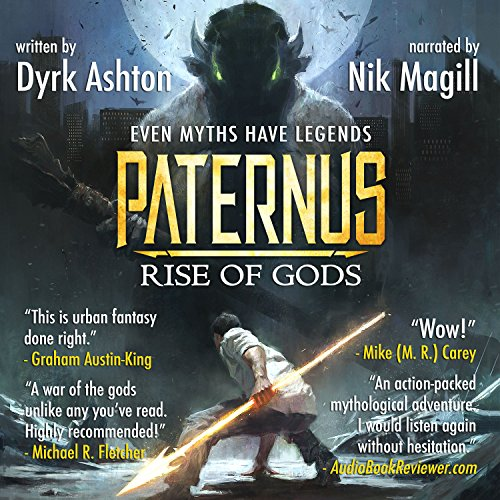 Paternus: Rise of Gods audiobook cover art