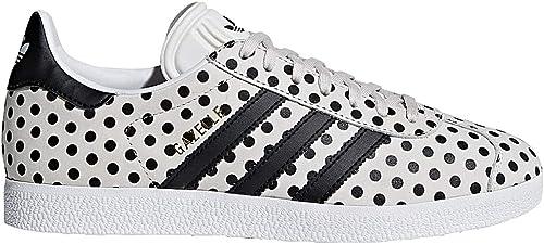 Adidas Gazelle W Chaussures de Fitness Femme, Blanc (Balcri Negbás Ftwbla 000), 44 EU