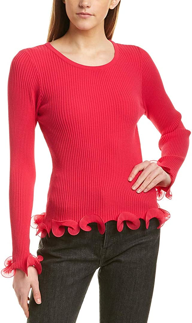 MILLY Women's Wired Pullover Edge Regular Sales store