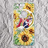 Anime Pixel Case Inspired by Sailor Moon Venus for LG G5 G6 Google Pixel 3 3a XL 2XL 3XL 2 XL Cute Floral Yellow Sunflowers Sun Flowers Phone Case for Women Girls Gifts Silicone TPU Clear Cover