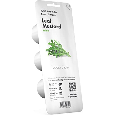 Click and Grow Smart Garden Arugula Plant Pods, 3-pack