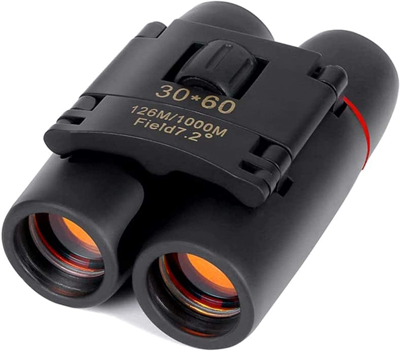 HaoLi Telescope with Zoom 30X60 New sales Nigh Low Binoculars Industry No. 1 Folding