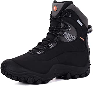 XPETI Men's Thermador Mid-Rise Waterproof Hiking Trekking Insulated Outdoor Boots