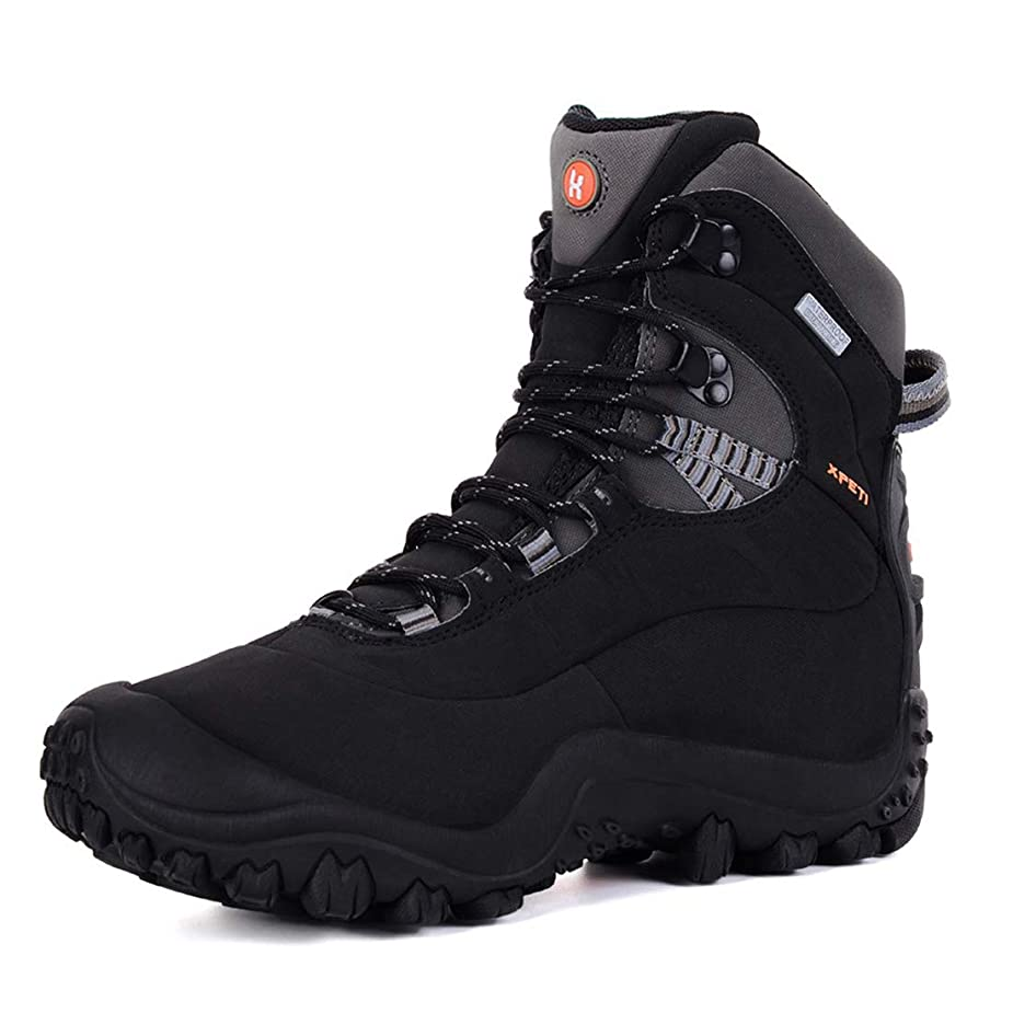 XPETI Women's Thermator Mid High-Top Waterproof Hiking Outdoor Boot bxeito8293017