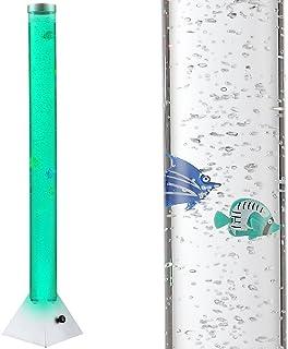 Poisson décoratif clair RGB LED eau colonne obtenir lampe cordon interrupteur couleur changement Globo 9015