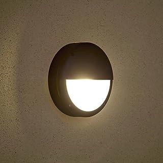 Biard E27 - Lámpara de Pared Redonda para Exteriores (IP54)