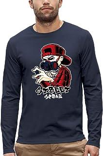 Koszulka z długim rękawem STREET SPRAY - PIXEL EVOLUTION - Mężczyzna