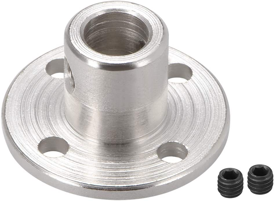 uxcell Dealing full price reduction 6mm Inner Dia H12D10 Rigid Motor Coupling Flange Sh Fees free!! Guide