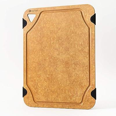Cutting Board, TOPTIER Wood Fiber Cutting Board...