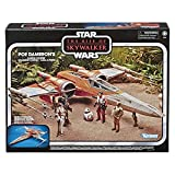 Star Wars The Vintage Collection The Rise of Skywalker Poe Dameron's X-Wing Fighter Toy Vehicle, Toys for Kids Ages 4 and Up