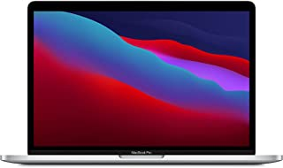 2020 Apple MacBook Pro (13-inch, Apple M1 chip with 8‑core CPU and 8‑core GPU, 8GB RAM, 256GB SSD) - Silver