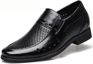 [スフォン] シークレットシューズ メンズ スリッポン 6cm身長アップ靴 ビジネスサンダル 背が高くなる靴 疲れない 蒸れない 防滑 通気
