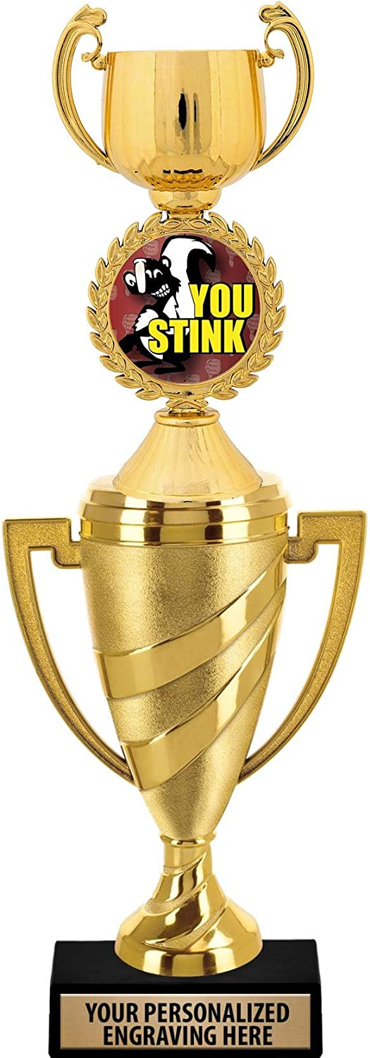 Crown Spring new work one after another Awards You Stink Trophy 14