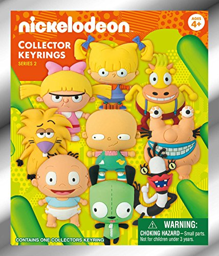 Nickelodeon Series 2-3D Collectible Key Ring Blind Bag Novelty Accessory, Model: 63240