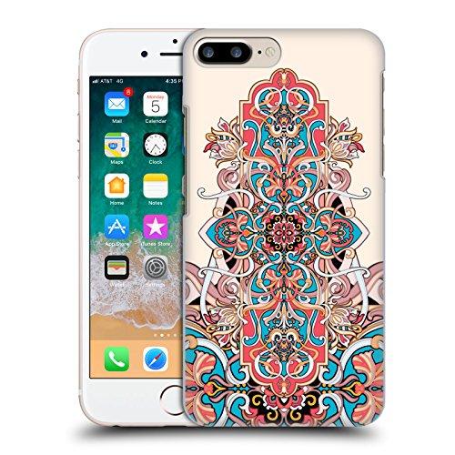 Head Case Designs Licenza Ufficiale Giulio Rossi Damasco Collezione Deco Cover Dura per Parte Posteriore Compatibile con Apple iPhone 7 Plus/iPhone 8 Plus