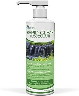 Aquascape 98879 Rapid Clear Flocculant Pond Water Treatment, 8 oz/ 250 ML