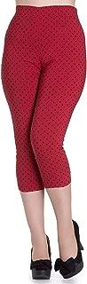 Kay Polka Dot 50s Vintage Style Capri Trousers 3/4 Pedal Pushers