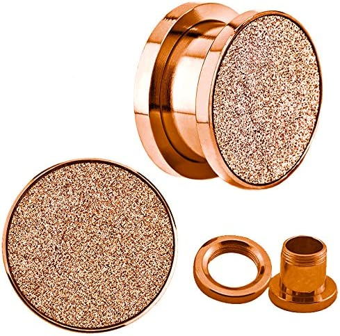 Jewelry Avalanche Rose Gold Sandpaper All items in the store Screw Anod Fit Texture Top wholesale