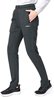Women's Joggers Fleece Sweatpants with Pockets Comfy Running Athletic Workout Sports Pants