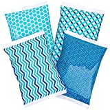 Thrive+ Ice Pack for Lunch Boxes - 4 Reusable Packs - Keeps Food Cold...
