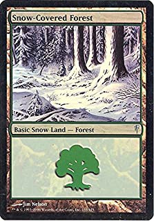 Magic: the Gathering - Snow-Covered Forest - Coldsnap - Foil
