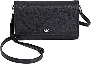 d0bf020b0e9c4 Michael Kors Pebbled Leather Convertible Crossbody- Black