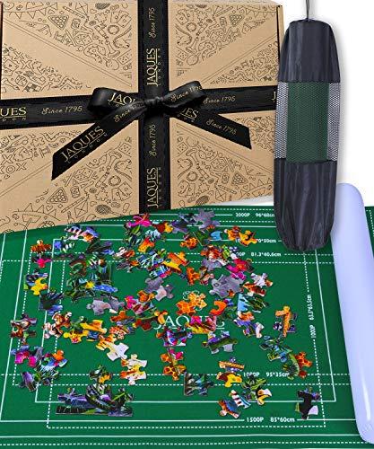 Jaques Von London Puzzlematte | Puzzlematte 2000 Teile | Qualität Puzzle Matte Roll Und Puzzle-Zubehör | Seit 1795