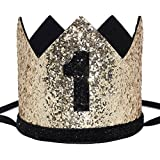 Festive Party Decoration for Birthday Anniversary 6.3 inch Assorted yalansmaiP 24 Pieces Birthday Party Hats Foil Cone Hats
