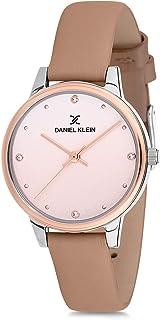 Daniel Klein Womens Quartz Watch, Analog Display and Leather Strap DK12201-7