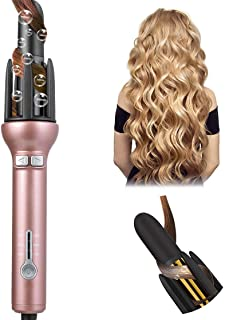 Professional Hair Curling Wand Automatic Self Rotating Curling Iron for Long Hair 1 Inch Ceramic Auto Spinning Spiral Beach Curler Waver LCD Digital Display Gifts for Women