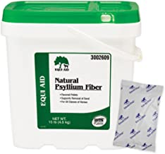 Equi Aid Natural Psyllium Fiber Pellets Digestive Aid for Horse