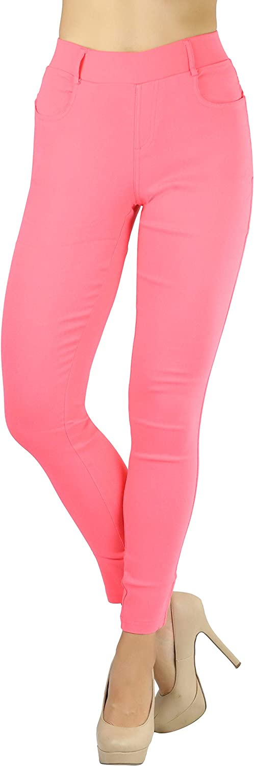 ToBeInStyle Women's Stretchy Twill Five Pants Free Shipping New lowest price Pocket