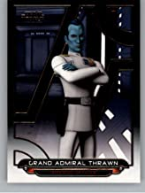 2018 Topps Star Wars Galactic Files #REB-17 Grand Admiral Thrawn Rebels Official Movie Trading Card