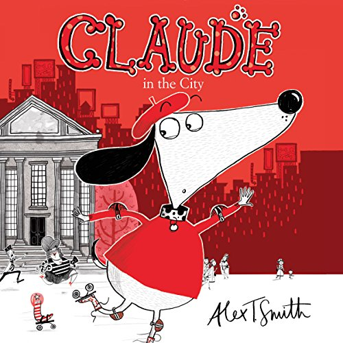 Claude in the City audiobook cover art