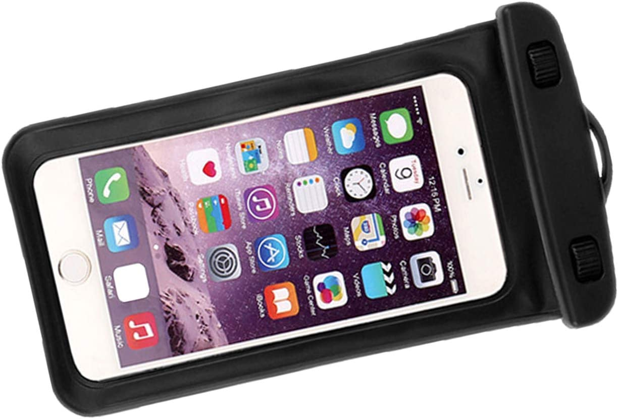 queenfoot Universal Waterproof Case Cellphone Dry Bag Pouch for iPhone 12 11 Pro
