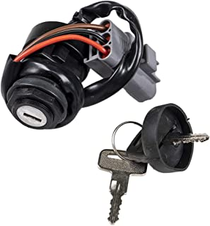 NICHE Ignition Switch with Keys For 2002-2014 Yamaha Big Bear Grizzly Kodiak 350 400 660 5KM-82510-00-00