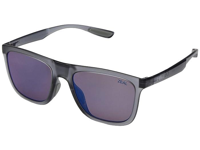 Zeal Optics  Boone (Matte Smoke/Polarized Horizon Blue Lens) Fashion Sunglasses