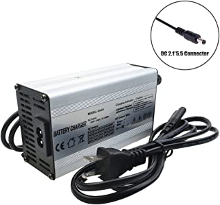 36V Charger 42V 2.5A Charger Scooter Charger 42V Battery Charger 36V Li-ion Battery Charger 36V Lithium Battery Pack Charger 36V E-Bike/Scooter Battery Charger with DC2.1 Connector (42V 2.5A DC2.1)