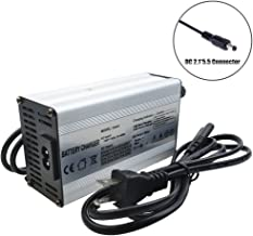 36V Charger 42V 2.5A Charger Scooter Charger 42V Battery Charger 36V Li-ion Battery Charger 36V Lithium Battery Pack Charger 36V E-Bike/Scooter Battery Charger with DC2.1 Connector (42V 2.5A DC2.5)