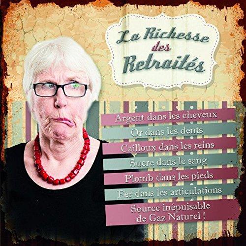 Class Deco Plaque en métal – La Richesse du pour Enseignants aux Personnes âgées