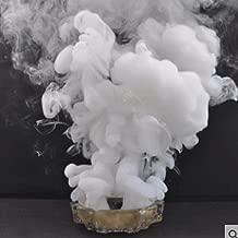 Pixco White Studio Photography Props Toy Smoke Cake Tobacco Cigarettes Maker Pie Location for Advertising Studio Film Drama Exhibition 7cm 60 Seconds