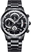 Watches for Men Business Chronograph Watch Male Waterproof Quartz Wristwatch