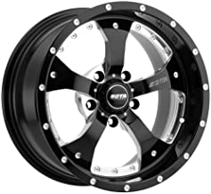 SOTA Offroad 561DM Novakane Death Metal Gloss Black w/Full CNC Milling Wheel with Painted Finish (20 x 9. inches /5 x 150 mm, 25 mm Offset)