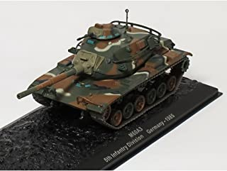 Deagostini 1/72 Combat Tank Collection M60A3. 5th Infantry Division. Germany - 1985 Issue 37 by DeAgostini