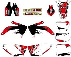 Gráficos Fondos de la Etiqueta engomada Kit for Honda CRF450X CRF 450X 4 Tiempos 2004-2012 2011 2010 2009 2008 2007 2006 2005